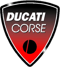 Ducati Corse Decal / Sticker 03