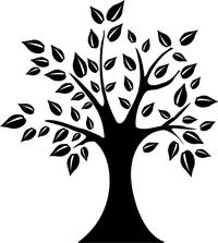 Tree Decal / Sticker 06