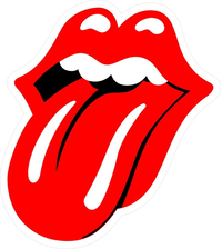 Rolling Stones Tongue Decal / Sticker 04