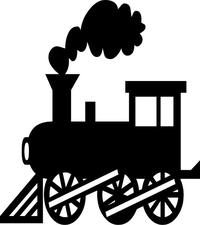 Train Decal / Sticker 08
