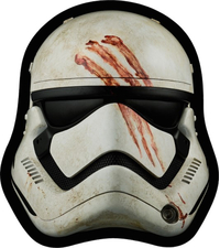 Star Wars Finn Helmet Decal / Sticker 02