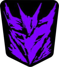 Purple Decepticon Decal / Sticker 39