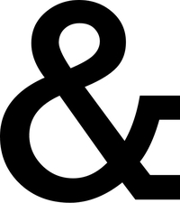 Ampersand Decal / Sticker 01