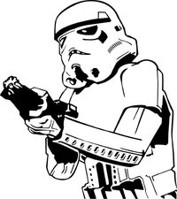 Star Wars Stormtrooper  Decal / Sticker 16