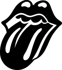 Rolling Stones Tongue Decal / Sticker 02
