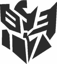 Autobot Decepticon Decal / Sticker