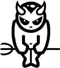Devil Decal / Sticker 01