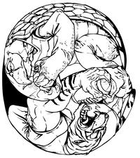 Tigers Football Mascot Decal / Sticker 14