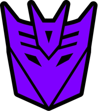 Purple Decepticon Decal / Sticker 40