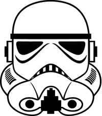 Stormtrooper Decal / Sticker 18