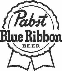 Pabst Blue Ribbon PBR Decal / Sticker 03