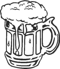 Beer Mug Decal / Sticker