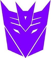 Decepticon Transformers Decal / Sticker 26