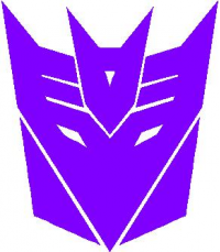 CUSTOM DECEPTICON DECALS and DECEPTICON STICKERS