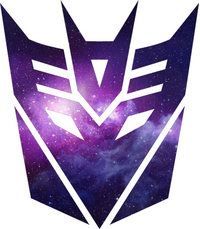 Galaxy Decepticon Decal / Sticker 34
