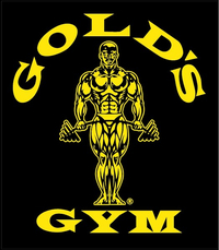 Gold's Gym Decal / Sticker 02