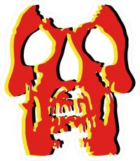 Deftones Skull Decal / Sticker 08