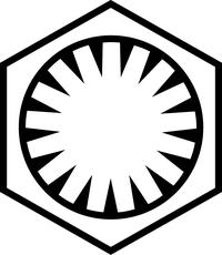 First Order Decal / Sticker 01