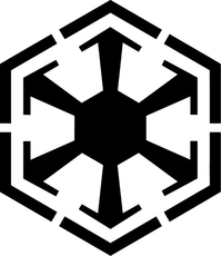 Star Wars Galactic Empire Decal / Sticker 01