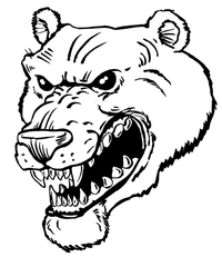 Bear Mascot Decal / Sticker