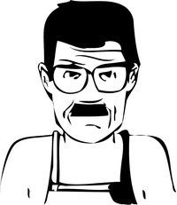 Breaking Bad Heisenberg (Walter White) Decal / Sticker 34