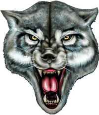 Wolf Decal / Sticker 07