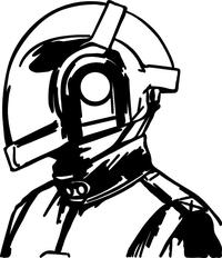 Daft Punk Decal / Sticker 03
