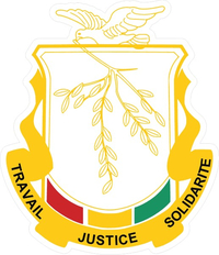 Guinea Coat of Arms Decal / Sticker 01