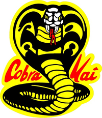COBRA KAI KARATE KID DECALS and STICKERS