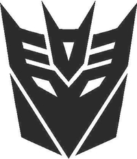 Transformers Decepticon 06 Decal / Sticker