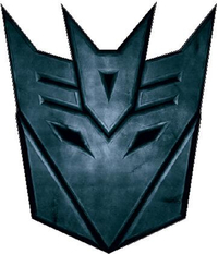 Transformers Decepticon 06 (small) Decal / Sticker