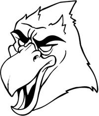 Cardinals Mascot Decal / Sticker