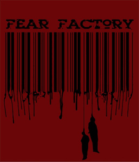 Fear Factory Decal / Sticker 01