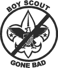 Boy Scout Gone Bad Decal / Sticker