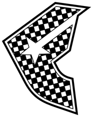 Famous Checkerboard Decal / Sticker 09