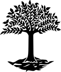 Tree Decal / Sticker 08