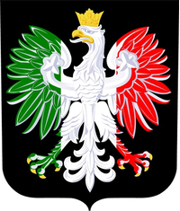 Polish Coat of Arms with Italian Flag Decal / Sticker 05