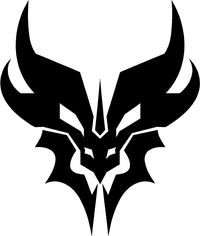 Decepticon Predaking Decal / Sticker 01