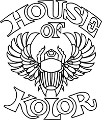 House of Kolor Decal / Sticker 04