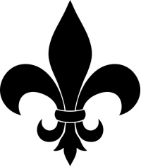 CUSTOM FLEUR DE LIS DECALS / STICKERS