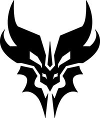 Decepticon Predaking Decal / Sticker 02