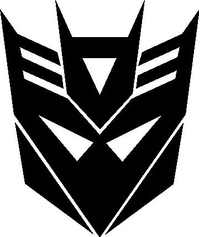 Decepticon Transformers Decal / Sticker 25