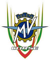 MV Augusta Corse Decal / Sticker 01