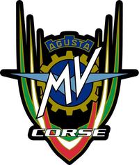MV Augusta Corse Decal / Sticker 02