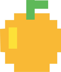 Pac-Man Orange Decal / Sticker 13