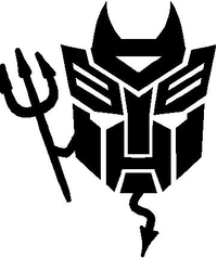 Autobot Devil Decal / Sticker