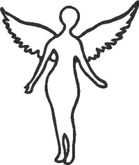Nirvana Angel Decal / Sticker