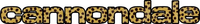 Cheetah Print Cannondale Decal / Sticker 17