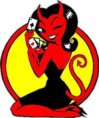 Lucky Devil Decal / Sticker 02