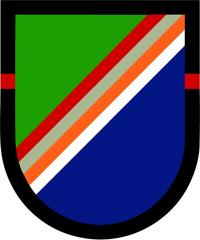 2nd Ranger Battalion Beret Patch Decal / Sticker 02